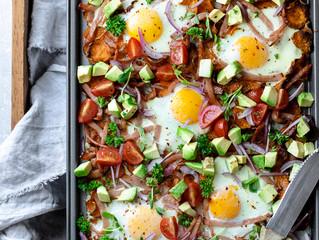 Nacho Bacon and Eggs