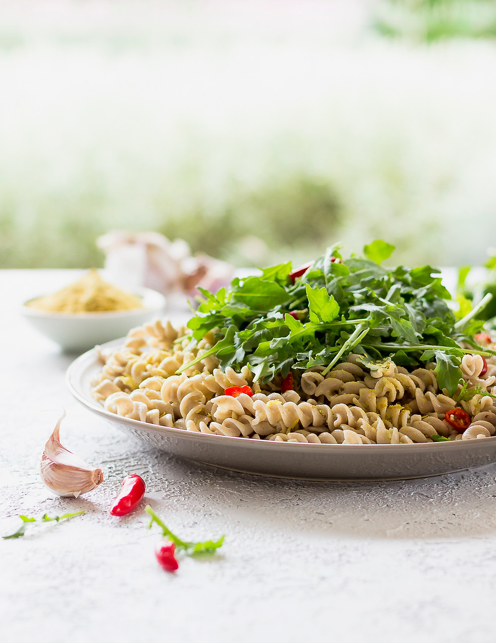 Lemon, Chilli and Garlic Pasta