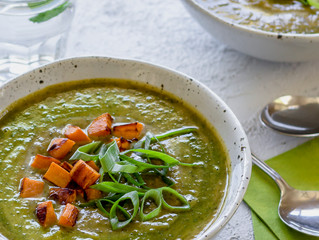 MOROCCAN GREEN SOUP