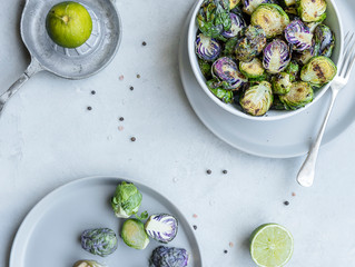 Honey Lime Brussels Sprouts