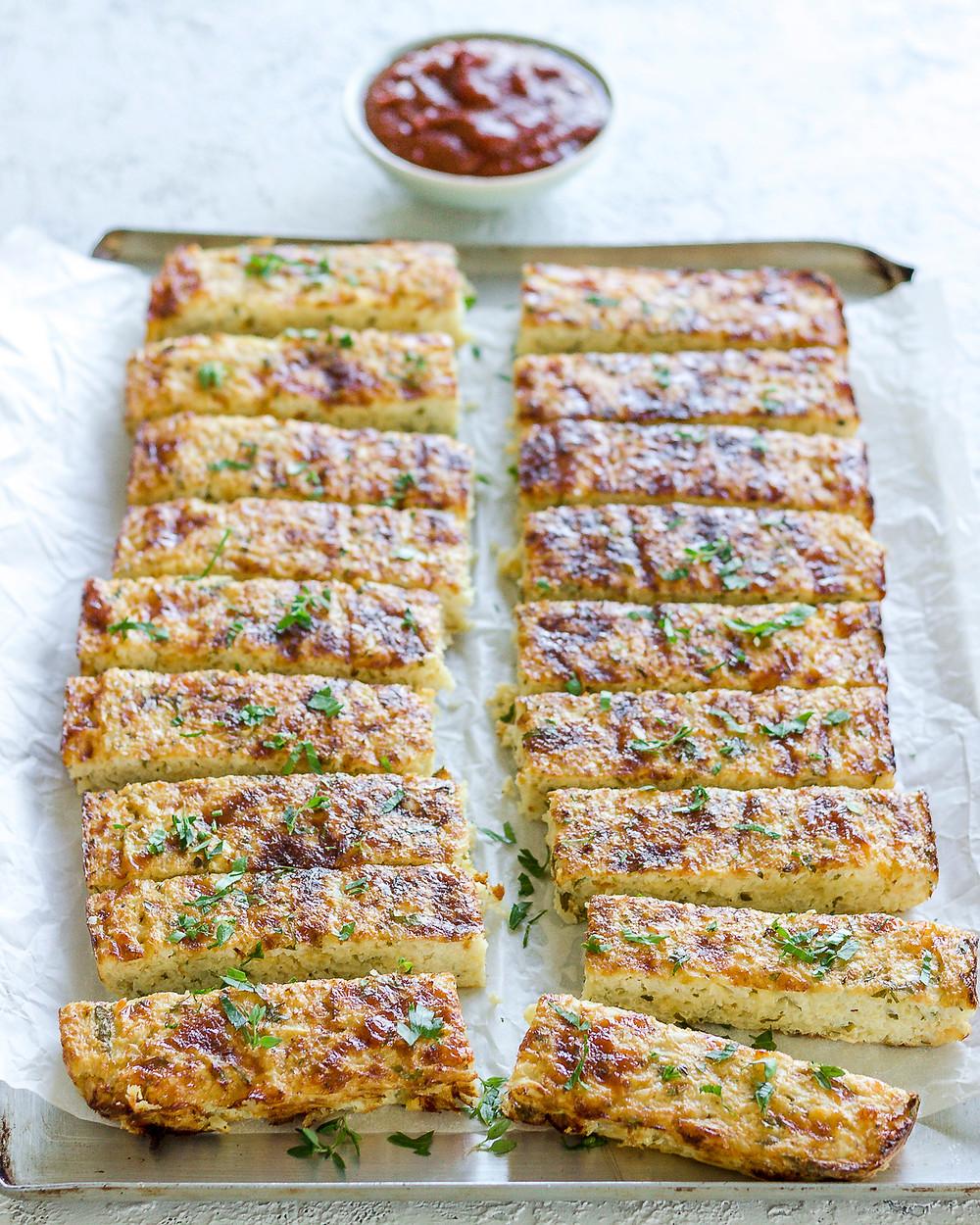 Cauliflower Herb Flat Bread