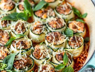Zucchini Cannelloni Bake