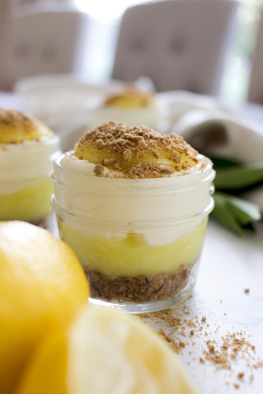Gluten Free Lemon Curd Cheesecake