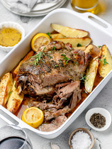 Lamb Leg Roast Kleftiko Style