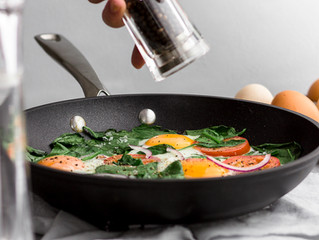 3 MINUTE SKILLET BREAKFAST
