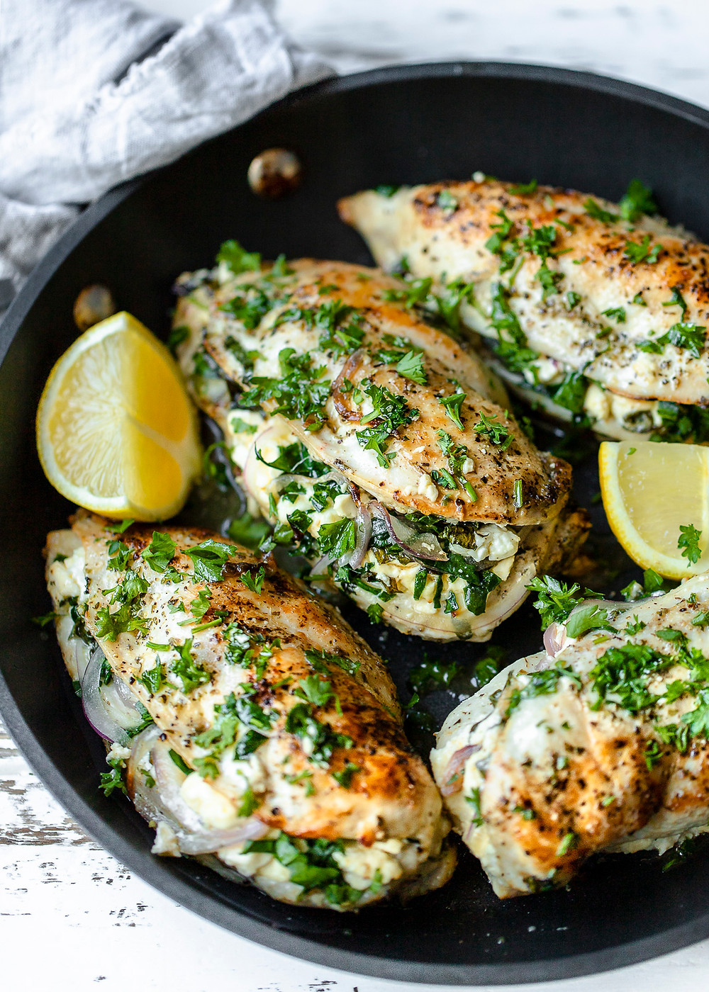 Stuffed Chicken with Spinach and Feta