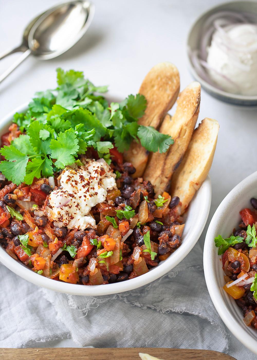 Spicy Black Bean Stew
