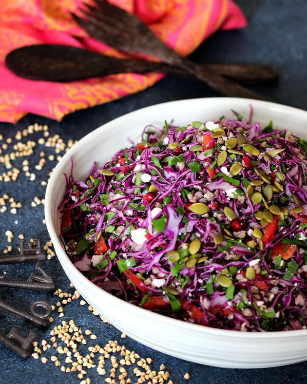 Buckwheat Coleslaw Salad