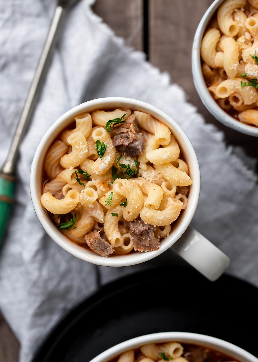 Greek Pasta Soup