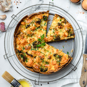 Sweet Potato Quiche with Wrap Base