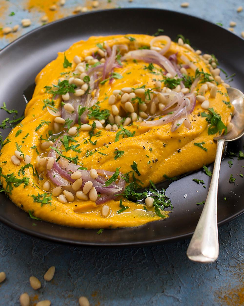 Tahini Carrot dip