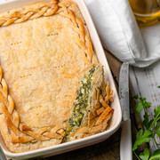 Spanakopita with Puff Pastry