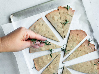 HERB BUCKWHEAT CRACKERS  (GLUTEN FREE)