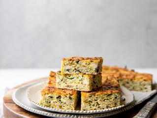 Zucchini Slice with Feta