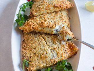 HERB AND CHILLI CRUMBED FISH