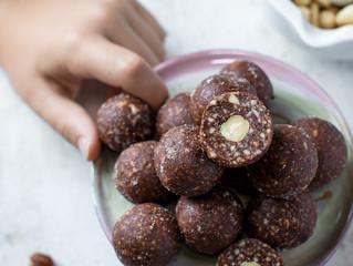 Hazelnut Surprise Balls