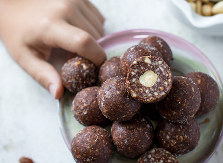 Hazelnut Surprise Balls