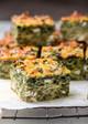 Pastryless Spanakopita (Crustless Spinach & Feta Pie)