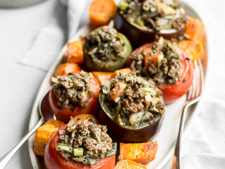 GRAIN-FREE STUFFED VEGETABLES