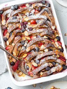 Bread and Berry Pudding