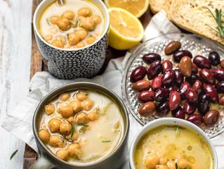 Greek Chickpea Soup aka Revithosoupa