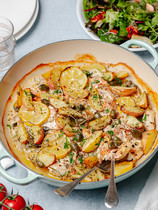 Fish with Potatoes and Capers