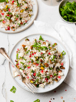 Jewelled Rice with Pomegranate