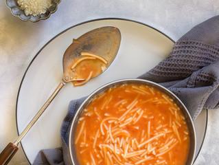 SPAGHETTI NOODLE SOUP (aka Fithe Soup)