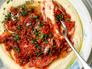 Greek Baked Fish with Cauli Mash