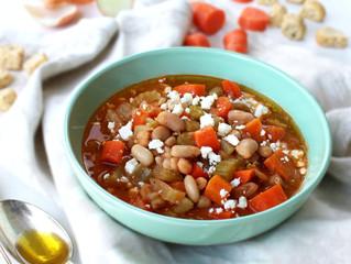 FASOLADA SOUP (Greek Bean Soup)