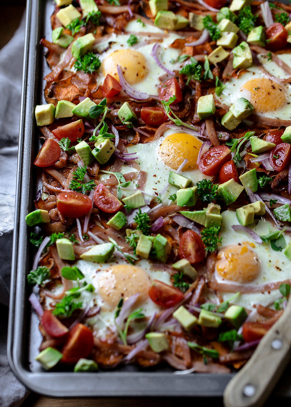 Nacho Bacon and Eggs