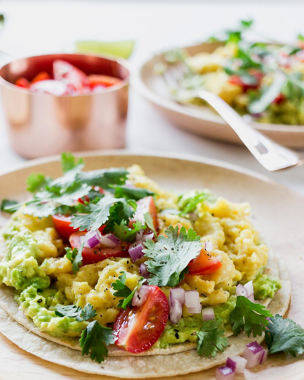 Gluten Free Breakfast Tortilla