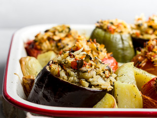 RICE STUFFED VEGETABLES (YEMISTA)