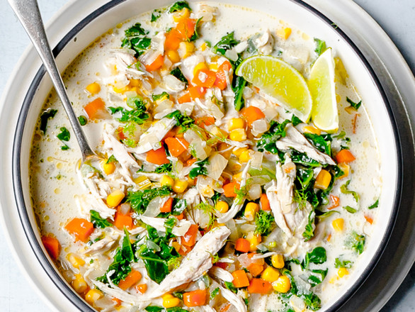 Easy Chicken Curry Soup