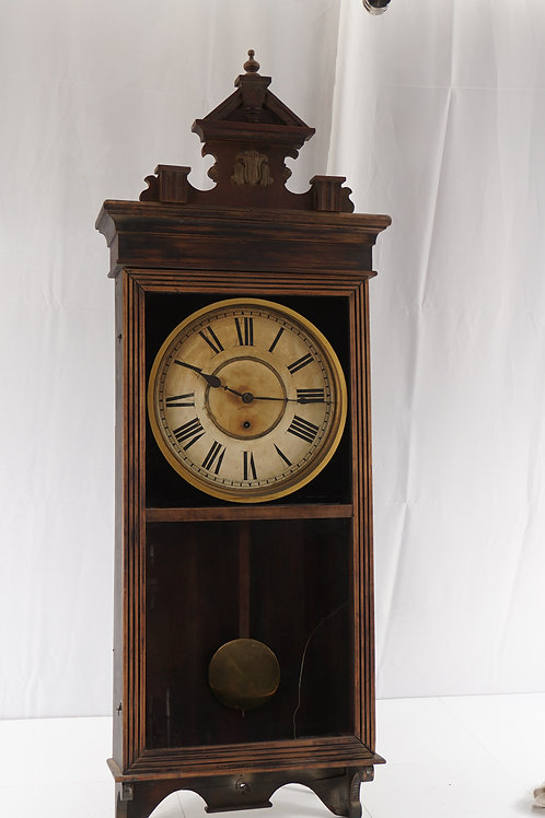 Early 1900s Regulator Clock Mfg By Sessions Clock Co