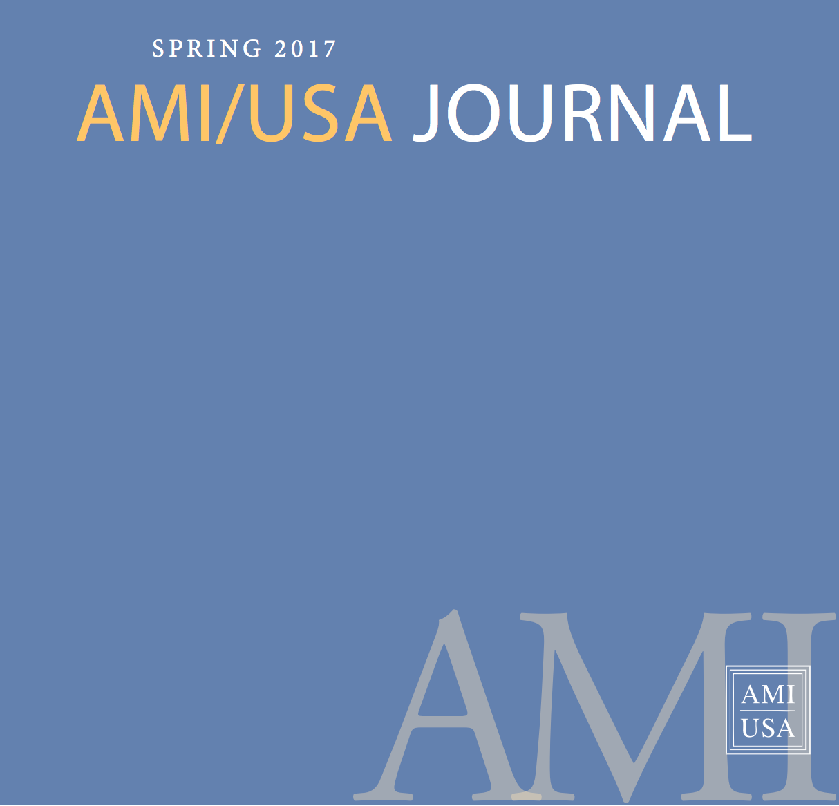 AMI/USA Journal