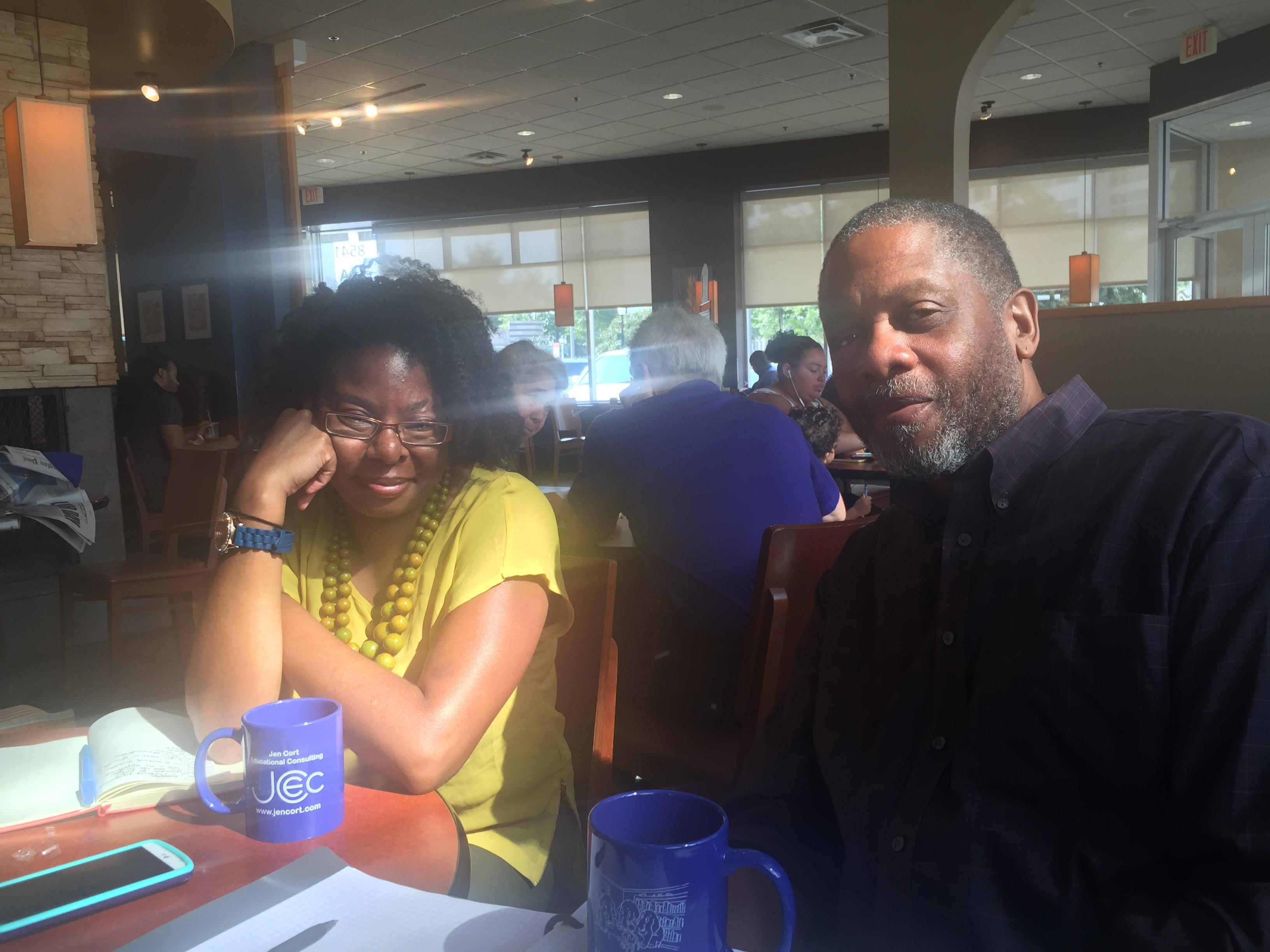 Izetta Mobley and Randolph Carter