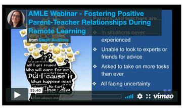 Nurturing the Parent-Teacher Relationship During COVID-19 FREE Webinar