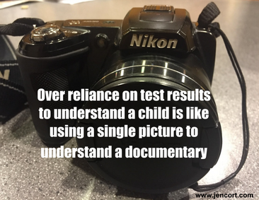 Why take a snapshot of a student when a documentary can be created?