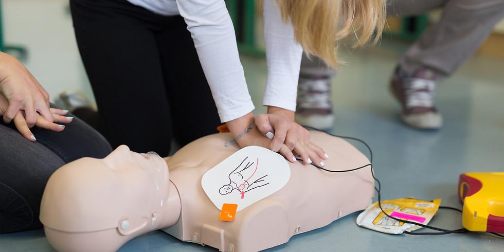 Hjärt- Lungräddning med Hjärtstartare D HLR VUXEN 3 h