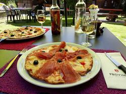 Pizza terrasse