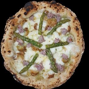 Asparagus & salsiccia