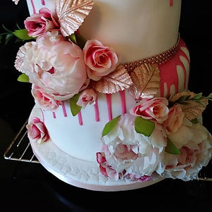 Collette 30th birthday Cake thank you fo