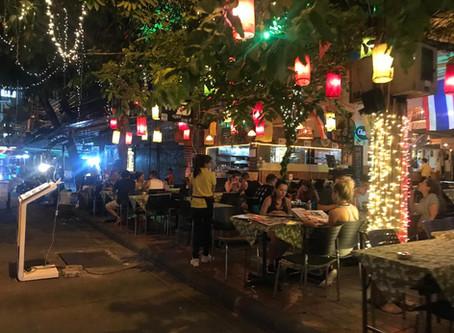 Calle Khao San Road y Masajes