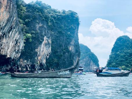 Dia de Excursión a la Isla de James Bond, Phuket, Tailandia