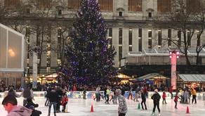 Bryant Park en Navidad: Recorremos su mercadito Navideño, pista de patinaje y su árbol