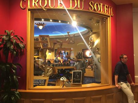 El Cirque du Solei y otros shows en Las Vegas