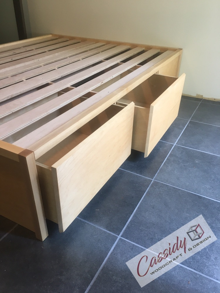 Slab Maple Bed