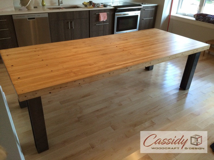 Bowling Lane Dining Room Table