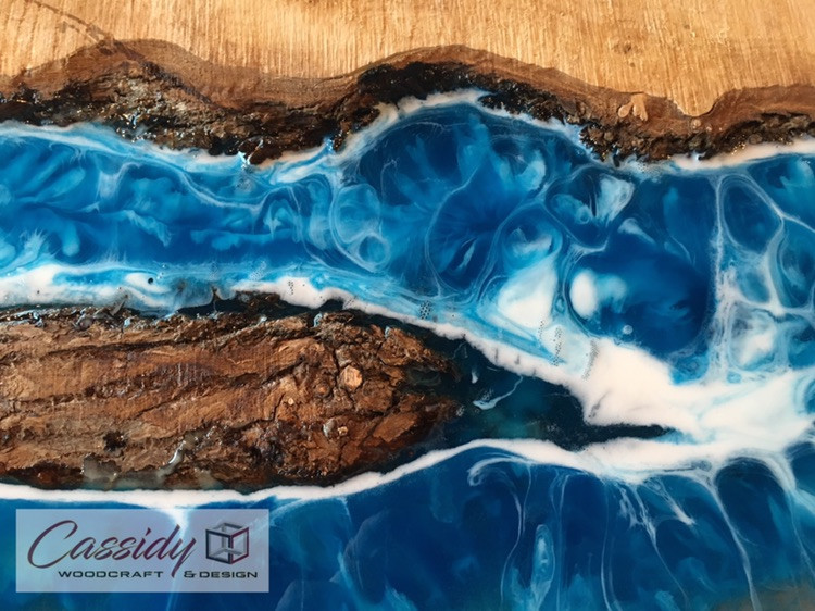 Arbutus Cove Resin Wall Art
